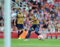 Alex Oxlade-Chamberlain of Arsenal   - Mandatory by-line: Joe Meredith/JMP - 25/07/2015 - SPORT - FOOTBALL - London,England - Emirates Stadium - Arsenal v Lyon - Emirates Cup
