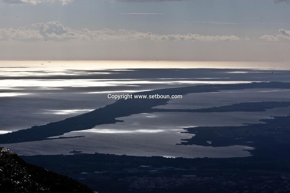 Corsica. France. road of Col de Teghine, in Nebbio area, Corsica North, France