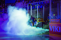 2019-11-27 | Rauma, Finland : Lukko taking the ice during the game between Lukko-Pelicans in Kivikylän Areena ( Photo by: Elmeri Elo | Swe Press Photo )