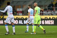 can - 20.01.2017 - Milano - Serie A 2016/17 - 21a giornata  -  Milan-Napoli  nella  foto: Pepe Reina deluso dopo il gol subito