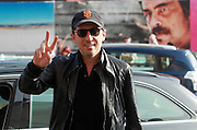 27.SEPTEMBER.2012. SAN SEBASTIAN<br /> <br /> GAD ELMALEH ARRIVES AT THE MARIA CRISTINA HOTEL FOR THE SAN SEBASTIAN FILM FESTIVAL.<br /> <br /> BYLINE: EDBIMAGEARCHIVE.CO.UK<br /> <br /> *THIS IMAGE IS STRICTLY FOR UK NEWSPAPERS AND MAGAZINES ONLY*<br /> *FOR WORLD WIDE SALES AND WEB USE PLEASE CONTACT EDBIMAGEARCHIVE - 0208 954 5968*