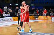 Pesic Hrvoje, Cavaliero Daniele<br /> Carpegna Prosciutto Basket Pesaro - Allianz Pallacanestro Trieste<br /> Campionato serie A 2019/2020 <br /> Pesaro 5/01/2020<br /> Foto M.Ciaramicoli // CIAMILLO-CASTORIA
