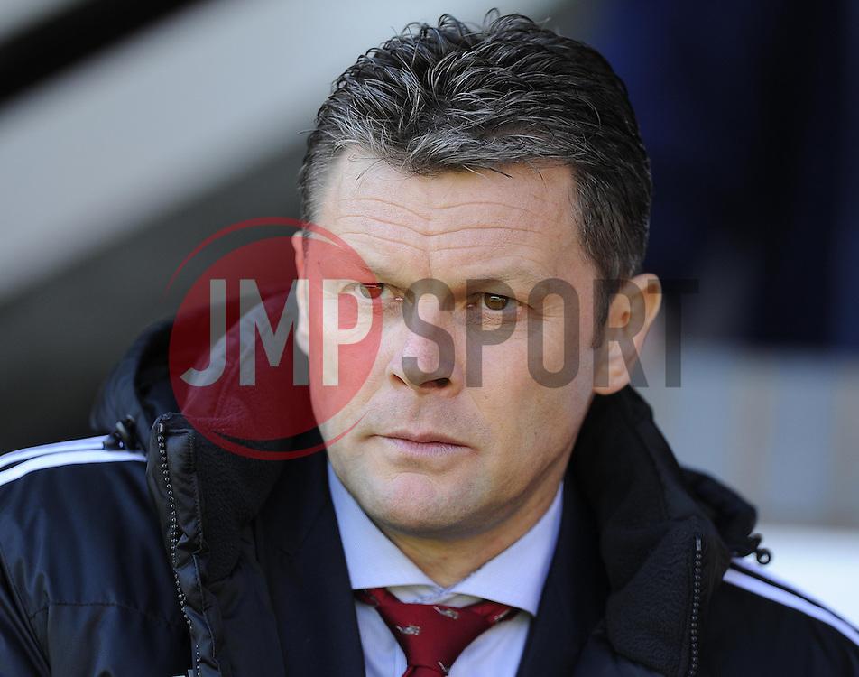 Bristol City manager, Steve Cotterill  - Photo mandatory by-line: Joe Meredith/JMP - Mobile: 07966 386802 12/04/2014 - SPORT - FOOTBALL - Walsall - Banks' Stadium - Walsall v Bristol City - Sky Bet League One