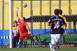 Goalkeeper of Koper Ermin Hasic at 12th Round of PrvaLiga Telekom Slovenije between NK Luka Koper vs NK Interblock, on October 4, 2008, in SRC Bonifika in Koper, Slovenia. Interblock won the match 4:1. (Photo by Vid Ponikvar / Sportal Images)