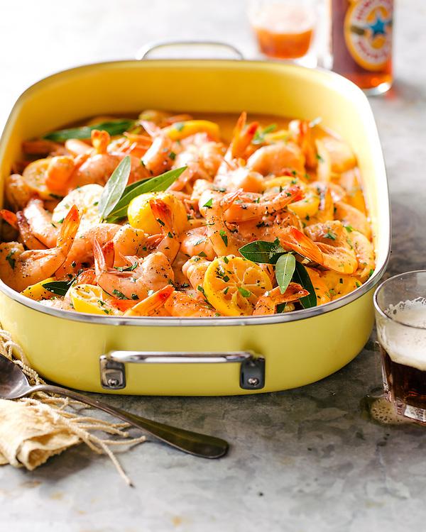 BBQ Beer Shrimp