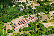 Nederland, Gelderland, Ede, 09-06-2016; terreinen van de voormalige kazernecomplex Prins Mauritskazerne met onder andere Johan Willem Friso Kazerne.<br /> Site of the former barracks complex near Veluw nature area.<br /> aerial photo (additional fee required);<br /> copyright foto/photo Siebe Swart