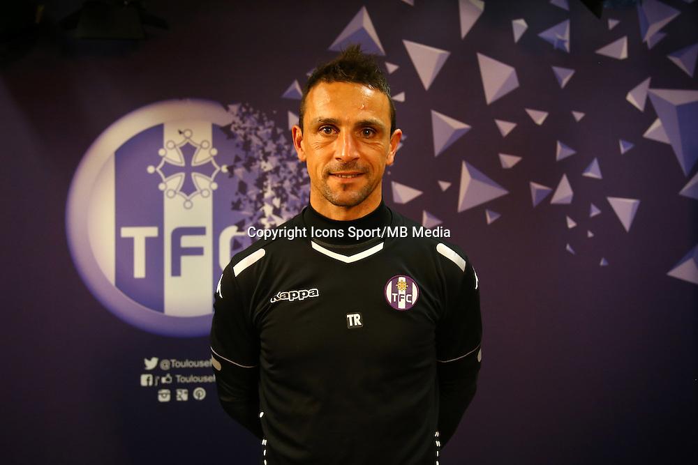 Teddy Richer  - 16.03.2015 - Nouvel entraineur  - Conference de presse de Toulouse <br /> Photo :  Manuel Blondeau / Icon Sport<br />  *** Local Caption ***