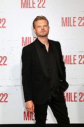 Celebrities at the premiere of STX Films' 'Mile 22' at Westwood Village Theatre on August 9, 2018 in Westwood, California. 09 Aug 2018 Pictured: Nikolai Nikolaeff. Photo credit: @parisamichelle / MEGA TheMegaAgency.com +1 888 505 6342