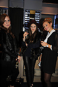 OLIVIA HAMILTON; STORM CLARKE-WEBSTER; GINA MITCHELL, The Gentleman's Journal Autumn Party, in partnership with Gieves and Hawkes- No. 1 Savile Row London. 3 October 2013