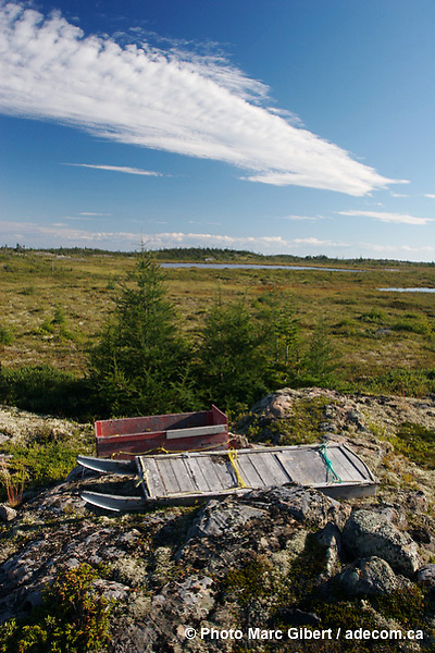 Côte Nord du fleuve Saint Laurent,  août 2007, Québec © Photo Marc Gibert / www.adecom.ca. Saint Laurent North Coast Quebec Canada.