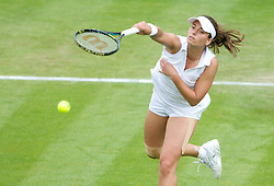 26.06.2013, Wimbledon, London, ENG, WTA Tour, The Championships Wimbledon, Tag 3, im Bild Petra Cetkovska (CZE) during three one of the WTA Tour Wimbledon Lawn Tennis Championships at the All England Lawn Tennis and Croquet Club, London, Great Britain on 2013/06/26. EXPA Pictures © 2013, PhotoCredit: EXPA/ Propagandaphoto/ David Rawcliffe<br /> <br /> ***** ATTENTION - OUT OF ENG, GBR, UK *****
