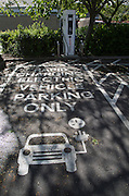 Rapid charging electric vehicle parking only,  England, UK