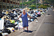 Garbage emergency in Naples.