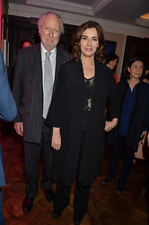 ED VICTOR and NIGELLA LAWSON at the 2016 Fortnum & Mason Food & Drink Awards held at Fortnum & Mason, Piccadilly, London on 12th May 2016.
