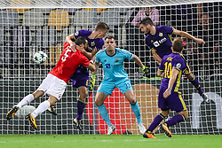 Jasmin Handanovic of NK Maribor during football match between NK Maribor and Hapoel Beer-Sheva in Second leg of UEFA Champions League playoff round, on August 22 2017 in Ljudski vrt, Maribor, Slovenia. Photo by Morgan Kristan / Sportida