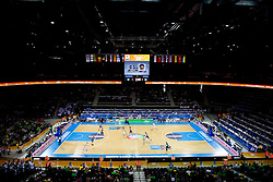 Arena Zalgirio during basketball game between National basketball teams of Slovenia and Serbia in 7th place game of FIBA Europe Eurobasket Lithuania 2011, on September 17, 2011, in Arena Zalgirio, Kaunas, Lithuania. (Photo by Vid Ponikvar / Sportida)