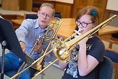 Trombone Brass Students