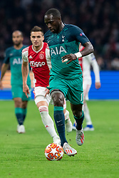 08-05-2019 NED: Semi Final Champions League AFC Ajax - Tottenham Hotspur, Amsterdam<br /> After a dramatic ending, Ajax has not been able to reach the final of the Champions League. In the final second Tottenham Hotspur scored 3-2 / Moussa Sissoko #17 of Tottenham Hotspur