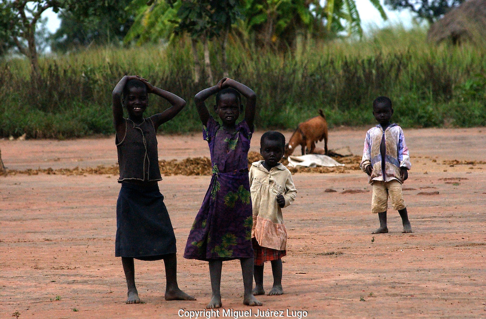 "At least, 20,000 children, women and men were abducted into Kony's army over the years and forced to take part in horrific killings as a way of brainwashing them into a culture of violence. Many young woman are forced to ""marry"" rebel commanders, and often came home with children.  (PHOTO: MIGUEL JUAREZ LUGO)."