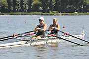 Poznan, POLAND,  NZL W2X, Bow, Anna REYMER and Paula TWINING, competing in the heats of the women's double sculls, on the first day of the, 2009 FISA World Rowing Championships. held on the Malta Rowing lake, Sunday 23/08/2009 [Mandatory Credit. Peter Spurrier/Intersport Images]