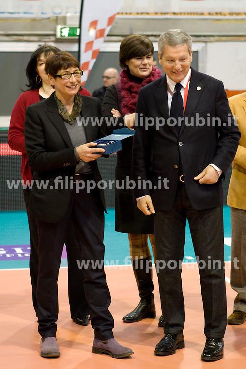 LIUJO CARPI - APRILIA VOLLEY.FINALE SEAT COPPA ITALIA A2 2009-2010.PARMA 28-02-2010.FOTO FILIPPO RUBIN - LVF