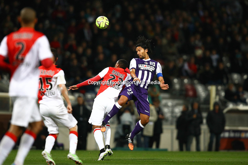 Abel Aguilar - 05.12.2014 - Toulouse / Monaco - 17eme journee de Ligue 1 -<br />