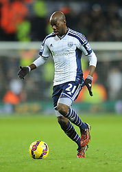 West Bromwich Albion's Youssuf Mulumbu - Photo mandatory by-line: Dougie Allward/JMP - Mobile: 07966 386802 - 02/12/2014 - SPORT - Football - West Bromwich - The Hawthorns - West Bromwich Albion v West Ham United - Barclays Premier League