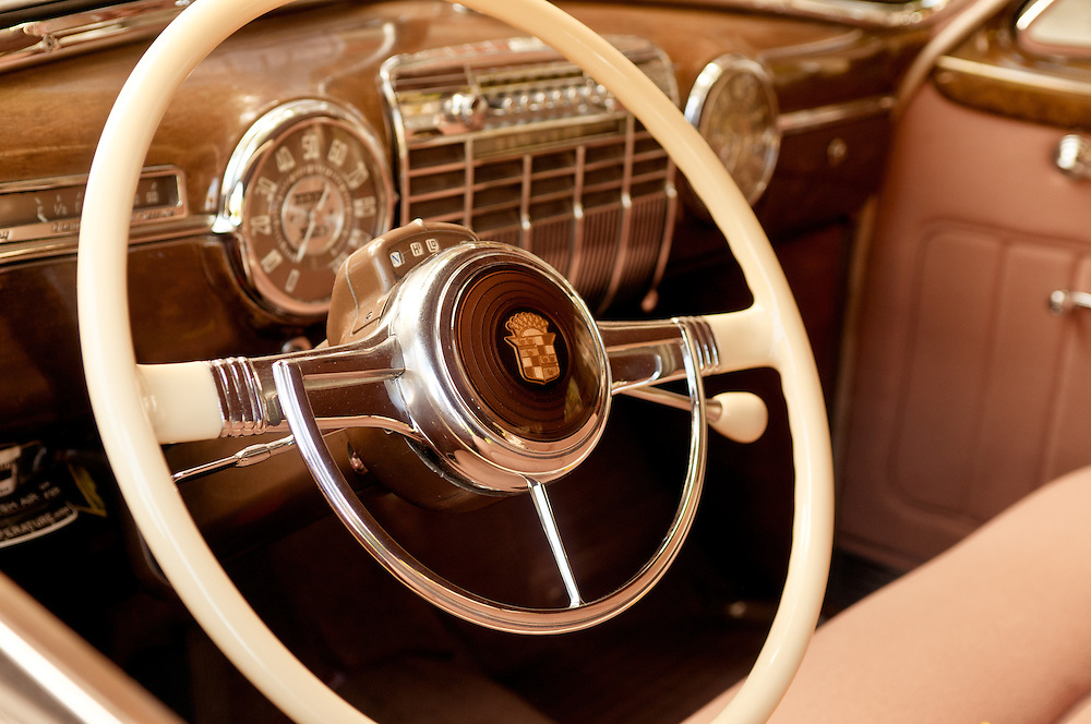 Old Cadillac Interior Rick Ricozzi Photography