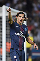 Fotball<br /> Foto: Dppi/Digitalsport<br /> NORWAY ONLY<br /> <br /> Uruguayan forward Edinson Cavani of Paris Saint Germain in action during the UEFA Champions League, Group A, football match between Paris Saint Germain and Arsenal FC on September 13, 2016 at Parc des Princes stadium in Paris, France