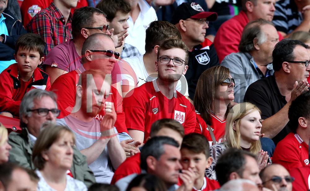 Bristol City fans - Mandatory by-line: Robbie Stephenson/JMP - 17/09/2016 - FOOTBALL - Ashton Gate Stadium - Bristol, England - Bristol City v Derby County - Sky Bet Championship
