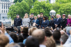 2017-06-05 Thousands gather at City Hall vigil to remember London terror victims