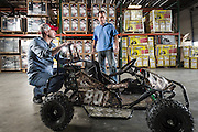 01/14/2016 134515 -- Garland, TX -- © Copyright 2016 Mark C. Greenberg<br /> <br /> CEO Alex Keechle and President and COO Rick Sukkar of Garland, Texas based Monster Moto