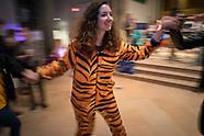 KT Purim Party Revelers