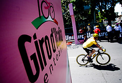 Logo at start point of the 198 km long 3rd stage from Grado, Italy to Valdobbiadene, Italy at 92nd Giro d'Italia, on May 11, 2009, in Grado, Italy.  (Photo by Vid Ponikvar / Sportida)