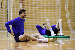 Mitja Gasparini during training camp of Slovenian Volleyball Men Team before Qualification tournament for FIVB Volleyball World Championship, on May 11, 2017 in Arena Vitranc, Kranjska Gora, Slovenia. Photo by Matic Klansek Velej / Sportida