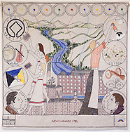 Great Tapestry of Scotland complete Panel<br /> New Lanark 1785 - Panel Number 78<br /> <br /> Copyright Alex Hewitt<br /> 07789 871 540<br /> <br /> Reproduction fees payable to Alex Hewitt