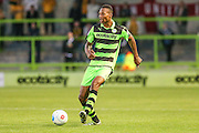 Forest Green Rovers Ethan Pinnock (16) during the Vanarama National League match between Forest Green Rovers and Sutton United at the New Lawn, Forest Green, United Kingdom on 9 August 2016. Photo by Shane Healey.