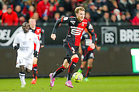 Ola TOIVONEN  - 25.01.2015 - Rennes / Caen  - 22eme journee de Ligue1<br /> Photo : Vincent Michel / Icon Sport *** Local Caption ***