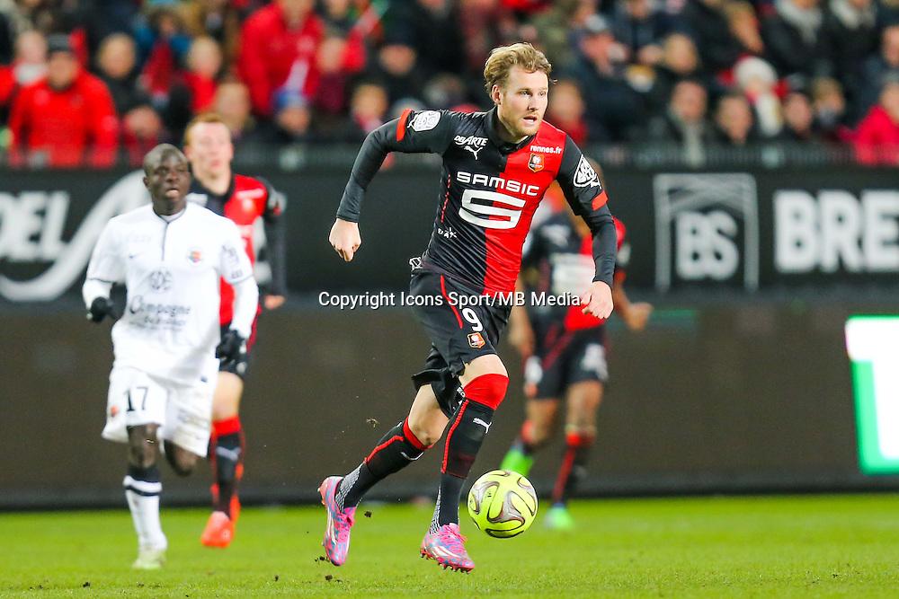 Ola TOIVONEN  - 25.01.2015 - Rennes / Caen  - 22eme journee de Ligue1<br /> Photo : Vincent Michel / Icon Sport *** Local Caption ***