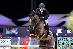 Bruynseels Niels, BEL, Angel van t Hof<br /> Price of the Top 40<br /> CSI Zurich 2017<br /> © Hippo Foto - Stefan Lafrentz<br /> 27/01/17