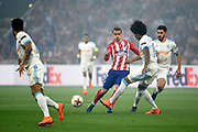 Forward Antoine Griezmann of Atletico de Madrid during the UEFA Europa League, Final football match between Olympique de Marseille and Atletico de Madrid on May 16, 2018 at Groupama Stadium in Decines-Charpieu near Lyon, France - Photo Jean-Marie Hervio / ProSportsImages / DPPI