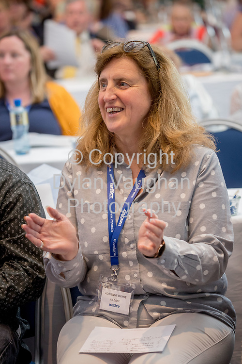 1-6-17<br /> Adrienne Byrne, KIldare pictured at the IMPACT Health and Welfare Division Conference in Wexford.<br /> Picture Dylan Vaughan.