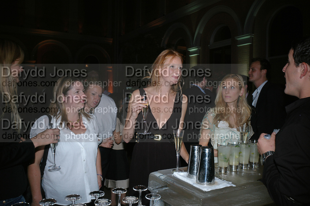 Anahita Resort launch party. Wallace Collection. London. 12 September 2007. ( Photo by Dafydd Jones)  Olivia Inge  -DO NOT ARCHIVE-© Copyright Photograph by Dafydd Jones. 248 Clapham Rd. London SW9 0PZ. Tel 0207 820 0771. www.dafjones.com.