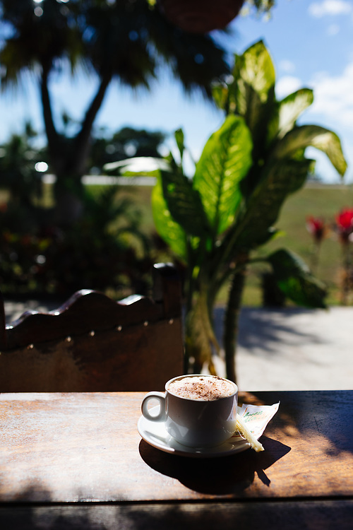 Coffee in Havana, Cuba