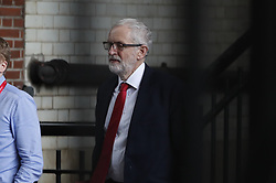 © Licensed to London News Pictures. 03/04/2019. London, UK. Labour Party Leader Jeremy Corbyn heads to talks with Prime Minister Theresa May to seek a way forward with the Brexit deadlock. Photo credit: Peter Macdiarmid/LNP