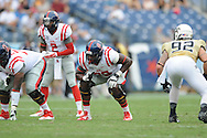 Ole Miss Rebels offensive lineman Laremy Tunsil (78) vs. Vanderbilt at L.P. Field in Nashville, Tenn. on Saturday, September 6, 2014. Ole Miss won 41-3.