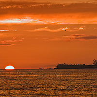 Seascape photo in the Bahamas at Go Slow Bend, West Nassau