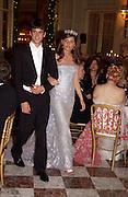 Tommaso Fassati, Dona Lucrezia Bonaccorsi, Crillon 2004 Debutante Ball. Crillon Hotel. Paris. 26 November 2004. ONE TIME USE ONLY - DO NOT ARCHIVE  © Copyright Photograph by Dafydd Jones 66 Stockwell Park Rd. London SW9 0DA Tel 020 7733 0108 www.dafjones.com