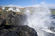 Borgarfjörður Eystri in east Iceland.