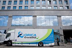 Service zone at Austria Trend Hotel One day before the 20th Tour de Slovenie 2013,  on June 12, 2013 in Ljubljana, Slovenia. (Photo By Vid Ponikvar / Sportida)